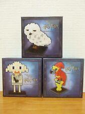 Universal Studios Japan Limited Harry Potter nanoblock 3pcs set Usj Free Shippin