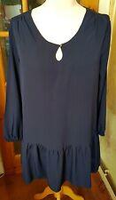 Blue Frill Dress South Size 18 BNWT (A)