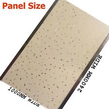 1m wide shower wall panels Travertine  Sparkle  2400mmx1mx10mm Thick