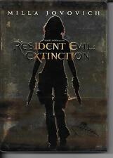COFFRET COLLECTOR METAL 2 DVD ZONE 2--RESIDENT EVIL EXTINCTION--JOVOVICH