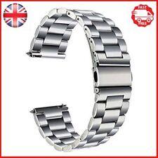 TRUMiRR Garmin Vivoactive 3 Strap, 20mm Stainless Steel Watch Band Quick Release