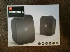 JBL Control X 5-1/4-inch Indoor/Outdoor Speaker, Black / New in Sealed Box