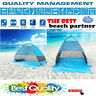 Automatic Pop Up Instant Portable Outdoors Quick Cabana Beach Tent 2-3 Person