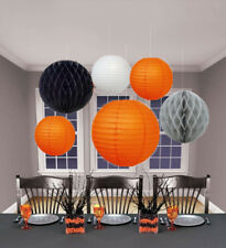 5 PCs HALLOWEEN Party  Honeycomb Ball Round Paper Lanterns Decoration (No.8)