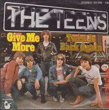"The Teens Give Me More / Twist Is Back Again 7"" Single Ariola Hansa 1979"