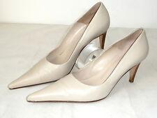 Gianni Versace 38,5 Leder Pumps Schuhe High heels nude Shoes Hautfarben Pump