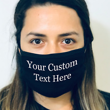 CUSTOMIZED Fashion Reusable Face Mask Made in the USA Create Your Fashion Mask