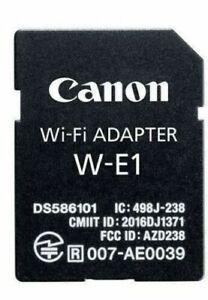Brandneu Canon W-E1 Wi-Fi Adapter Für Canon EOS 7D Mark II 5DS Und 5DS R