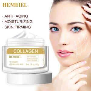 Collagen Anti-Aging Skin Firming Face Cream Nourishing Serum Skin Care Whitening