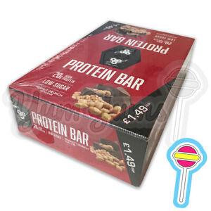 10 x 60g BSN 20g High Protein Bar Peanut Crunch NOT Boost Snickers BB: 31/07/21