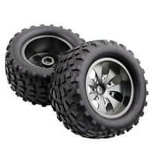 RC 08008N Alum Gray Wheel&08043 Tires For RedCat 1/10 Nitro Volcano S30 Truck