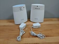 Netgear Orbi Rbk40 Ieee 802.11ac Ethernet Wireless Router 2-Pack, 4,000 sqft