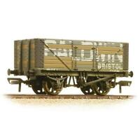 Bachmann 37-114 OO Gauge 7 Plank Wagon Fixed End Baldwin