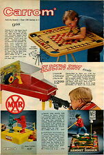 1969 ADVERT Marx Electro Shot Shooting ARCADE Gallery Rock EM Sock EM Robots