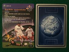 FOOTBALL CHAMPIONS 2001-02 CARD 24/80 INTER VIERI Calciatori Wizards
