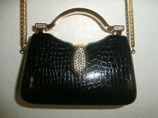 Benjamin Adams Wedding//Prom//Gala//BlackTie Champagne Beaded Clutch//Handbag NWT