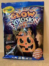 Crayola, Glow Explosion - 1 Glow Activator, 1 Orange Glow Marker & 4 Scenes,Nip