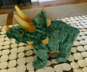 2008 Hasbro Playskool Kota & Pals Stompers Baby Triceratops Dinosaur Roar Moves