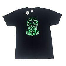 NWT Supreme NY Men's Black Green Scream Crewneck T-Shirt SS17 Spring L AUTHENTIC
