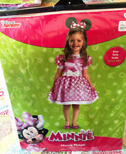 Disguise Inc. Disney Junior Halloween Child Costume Minnie Mouse 4-6X New!