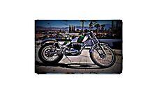 1970 Ossa Mar 250 Bike Motorcycle A4 Retro Metal Sign Aluminium