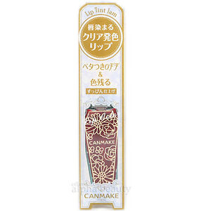 Canmake Japan Lip Tint Jam - clear color just like jam