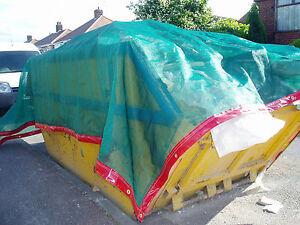 Heavy Duty PVC Mesh Nets for Lorries, Skips etc...