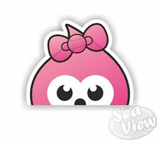 Peeping Girl Zingy Car Van Stickers Decal Funny Sticker