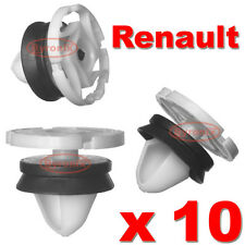 RENAULT MEGANE SCENIC LAGUNA DOOR CARD PANEL TRIM CLIPS HOGRING INTERIOR