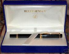 WATERMAN RHAPSODY MINERAL GREEN 18K GOLD FOUNTAIN PEN NEW IN BOX FINE PT