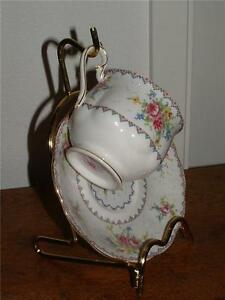 High quality cup & saucer stand Brass NEW