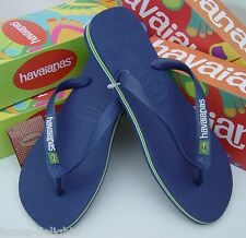 ff5e1797a Havaianas Brazil LOGO navy   white Flip Flops womens mens thongs beach  sandals