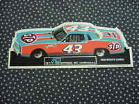 Richard Petty  1980   Monte Carlo   Nascar  decal / sticker