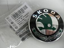 Genuine Skoda  Emblem Tailgate / Boot Skoda Badge 1U0853621CMEL