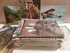 More details for 130 x postcards collection uk & foreign b/w colour job lot mixed eras vintage