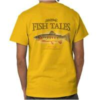 Gill McFinns Golden Trout Fishing Fisherman Womens or Mens Crewneck T Shirt Tee