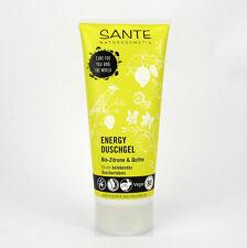 (1,98/100ml) Sante Energy Duschgel Bio Zitrone & Quitte vegan 200 ml