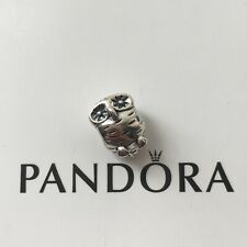 New Genuine Pandora silver WISE OWL Charm 790278 Animal Wildlife Woodland