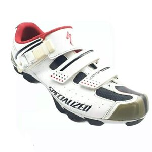 Specialized Comp MTB Body Geometry Womens Sz 9 White Cycling Shoes 6111-3142