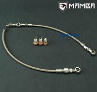 MAMBA AVCS /Turbo Oil Feed Line For Subaru 02~06 WRX / 04~14 STI IHI RHF5HB VF34
