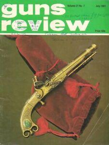 GUNS REVIEW July 1981 - Simonov SKS Carbine, Astra A80, Pneumatic Air Rifle