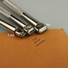 Stainless Steel  leather craft Geometric Stamp Tool