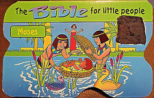 The Bible For Little People-Moses Thick Pages  in English