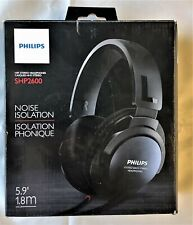 Philips SHP2600/27 Over Ear Headphones - Black    b1.305