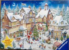 "Ravensburger ""The Christmas Village"" Limited Edition 1000 Piece Jigsaw Complete"
