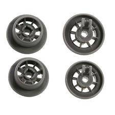 4 x Large Lower Basket Rack Wheel Wheels for Bosch 165314 00165314 Bottom Roller