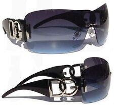 New Men's Oversized Unisex Designer DG Eyewear Cool Black Fashion Sunglasses