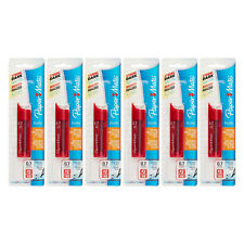 Paper Mate Lead Refills, 0.7 mm, Graphite, 12 Leads Per Tube, 6 Tubes