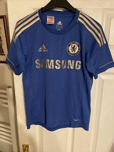 Kids Chelsea F.c Home Shirt Samsung Age 13 - 14