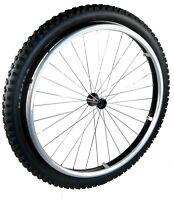 "All Terrain Off Road Wheelchair Wheels  24"" x 2.1""  (PAIR) (SET) Spinergy Brand"